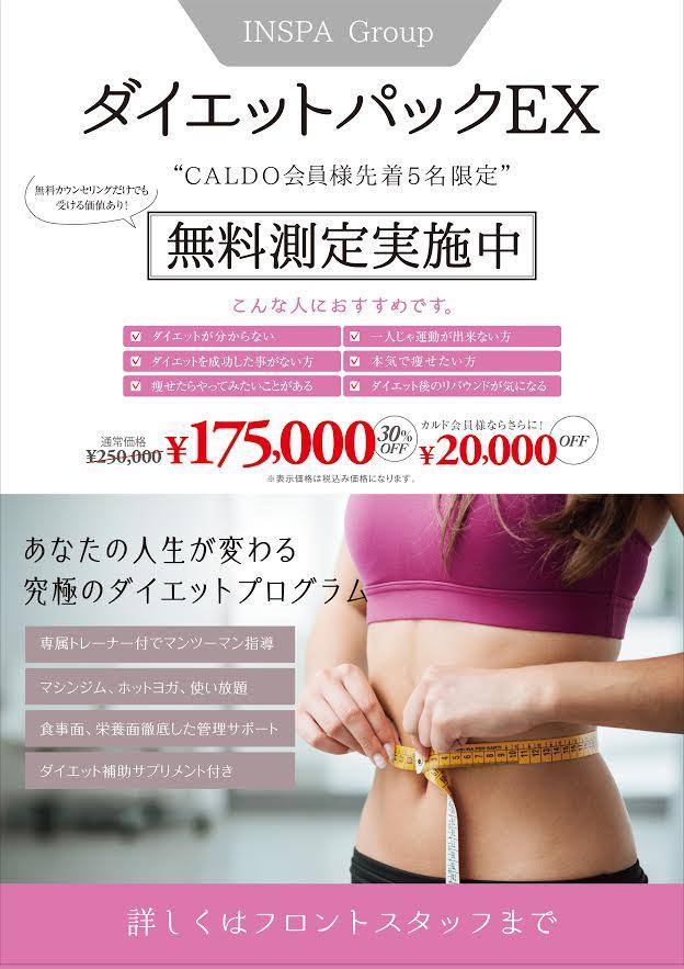 DP販促用POP(CALDO用)