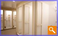 女性シャワー室