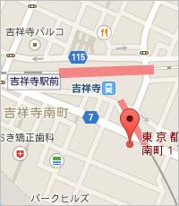 【カルド吉祥寺 地図】