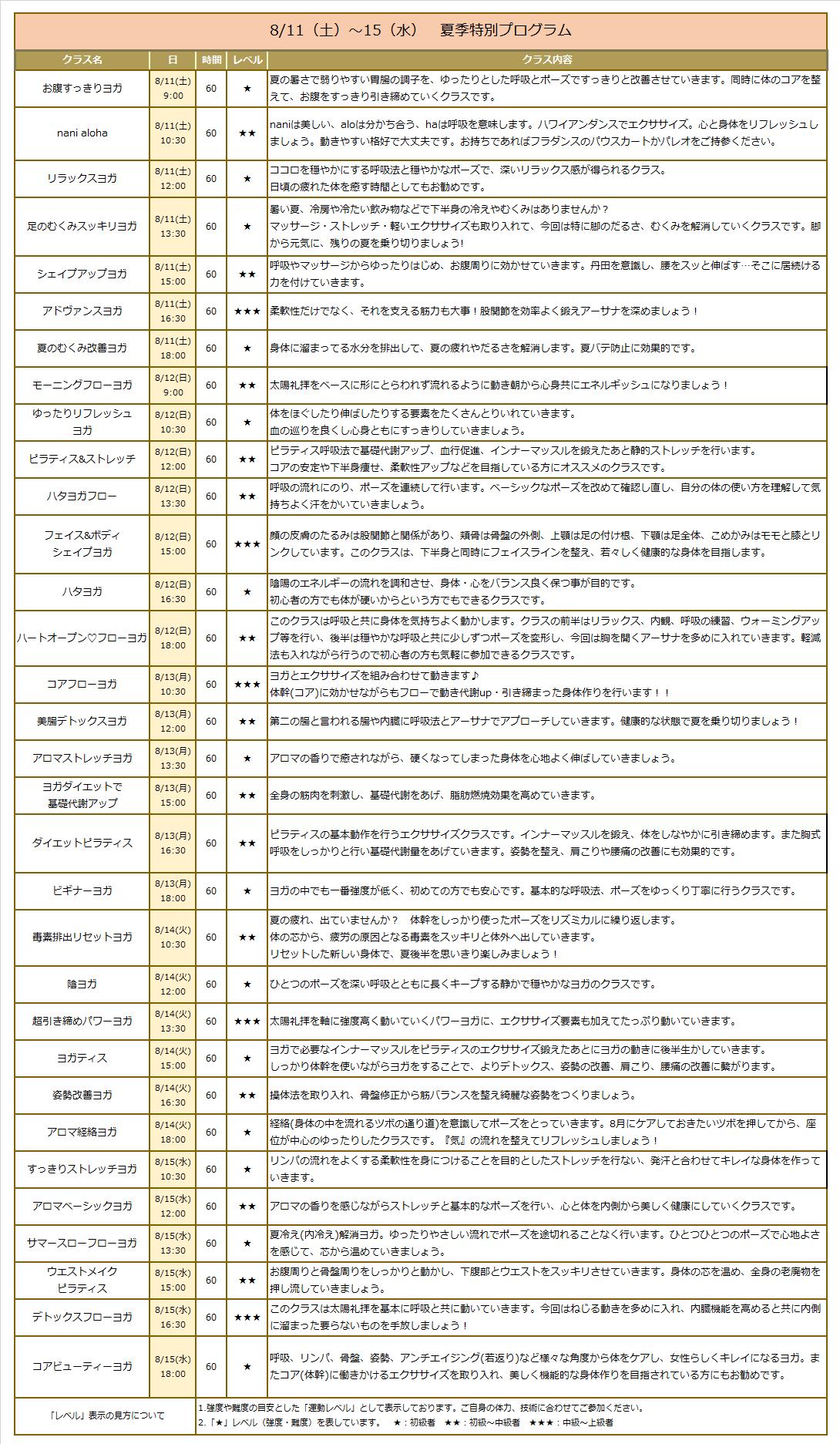 180717 2018夏季特別プログラム【新宿】裏面